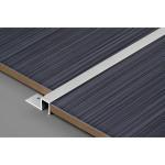 Профиль П-образный для плитки Лука 10 мм анодированный алюминий серебро 2.7 м