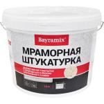 Штукатурка мраморная Bayramix Magnolia White-K 15 кг фракция 1.5 мм
