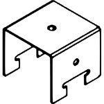 2-х уровневый соединитель для несущей направляющей S02 Cesal