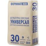 Штукатурка гипсовая Формматэкон Универсал 30 кг