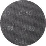 Решётка шлифлифовальная kwb для эксцентриковых шлифмашин 225 мм К80, 5 шт.