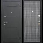 Дверь входная металлическая Гарда 7,5 Муар Венге Тобакко 860 мм правая