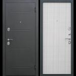 Дверь входная металлическая Гарда 7,5 Муар Белый ясень 960 мм правая