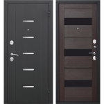 Дверь входная металлическая Гарда 7,5 Муар Темный Кипарис 860 мм правая