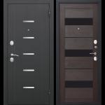 Дверь входная металлическая Гарда 7,5 Муар Темный Кипарис 960 мм правая