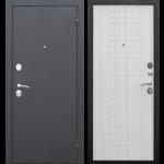 Дверь входная металлическая Гарда 8 Муар Белый ясень 960 мм правая