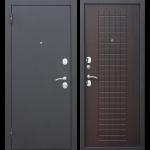 Дверь входная металлическая Гарда 8 Муар Венге 860 мм левая