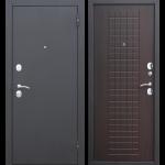 Дверь входная металлическая Гарда 8 Муар Венге 860 мм правая