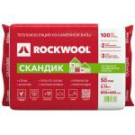 Утеплитель Rockwool Лайт Баттс СКАНДИК 800x600x50 мм 5.76 м2, объем упаковки 0.288 м3