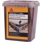 Краситель для бетона Sika SikaCem-1 Color коричневый 1 кг