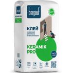 Клей плиточный BERGAUF KERAMIK PRO усиленный C1Т 25 кг