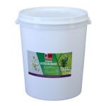 Краска для наружных и внутренних работ BAUMASTER ЭДЕЛЬВЕЙС ВД-АК-1180 моющаяся белоснежная 45 кг