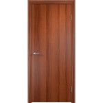 Дверное полотно глухое гладкое Verda 2000х600 мм финиш-пленка итальянский орех