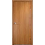 Дверное полотно глухое гладкое Verda 2000х800 мм финиш-пленка миланский орех
