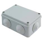 Коробка распаячная EKF PROxima КМР-050-048 120х80х50 мм 6 мембранных вводов, уплотнительный шнур IP55
