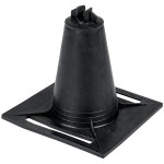 Держатель пластиковыйEKF PROxima прут D=8 мм - 100 мм