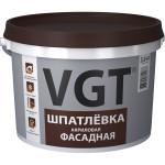 Шпатлевка фасадная акриловая VGT 3,6 кг
