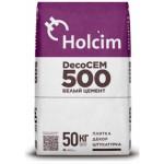 Цемент Holcim DecoCEM 500 50 кг