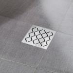 Пластиковый душевой канал (трап) Ravak SN501 - решетка нержавейка, X01435