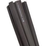 Термоусаживаемая трубка ТУТ нг EKF PROxima tut-16-b-1m 16/8 мм черная в отрезках по 1м