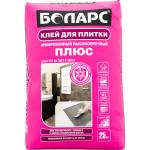 Клей плиточный БОЛАРС ПЛЮС С1Т с фиброволокном 25 кг