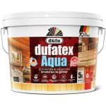 Пропитка для дерева Dufa Dufatex Aqua декоротивно-защитная белая 5 л