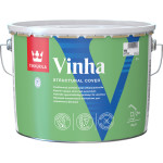 Антисептик кроющий для деревянных фасадов Tikkurila Vinha основа VVA База A белый 9 л