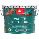 Масло для террас Tikkurila Valtti Terrace Oil EC 9 л