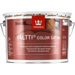Антисептик декоративный для дерева Tikkurila Valtti Color Satin База С бесцветный 9 л