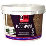 Штукатурка декоративная роллерная BAUMASTER мелкозернистая зерно 1-1.5 мм 18 кг
