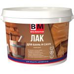Лак акриловый Baumaster для бань и саун 2.2 кг