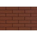 Плитка клинкерная фасадная Cerrad Elewacja rustiko burgunda 245x65x6.5 0.5 м2