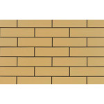 Плитка клинкерная фасадная Cerrad Elewacja gladka piaskowa 245x65x6.5 0.5 м2