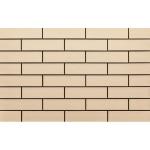 Плитка клинкерная фасадная Cerrad Elewacja gladka krem 245x65x6.5 0.5 м2
