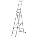 Лестница трехсекционная Новая Высота NV 100 3x8 ступеней