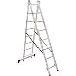 Лестница алюминиевая Новая Высота NV 1220 двухсекционная 2x8