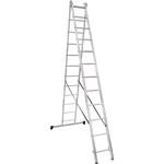 Лестница алюминиевая Новая Высота NV 1220 двухсекционная 2x12