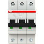 Автоматический выключатель 3-полюсной ABB S203 10А 6 кА тип С