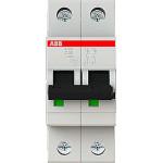 Автоматический выключатель 2-полюсной ABB S202 50А 6 кА тип С