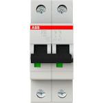 Автоматический выключатель 2-полюсной ABB S202 63А 6 кА тип С