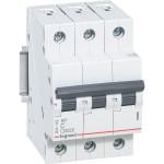 Автоматический выключатель 3-полюсной Legrand RX3 40А 4,5 кА тип С 419712