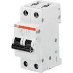 Автоматический выключатель 2-полюсной ABB S202 16А 6 кА тип С