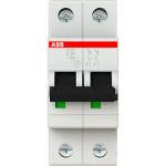 Автоматический выключатель 2-полюсной ABB S202 25А 6 кА тип С