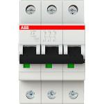 Автоматический выключатель 3-полюсной ABB S203 6А 6 кА тип С