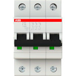 Автоматический выключатель 3-полюсной ABB S203 32А 6 кА тип С