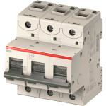 Автоматический выключатель 3-полюсной ABB S803C 80А 25 кА тип С