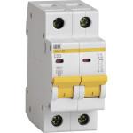 Автоматический выключатель IEK ВА47-29 2Р 20 А 4.5кА С