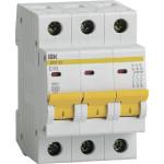 Автоматический выключатель IEK ВА47-29 3Р 10 А 4.5кА С