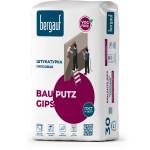 Штукатурка гипсовая Bergauf Bau Putz Gips трещиностойкая 30 кг