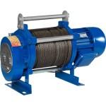 Лебедка электрическая Euro-Lift KCD грузоподъемность 500/1000 кг канат 70/35 м 220 В 50 Гц